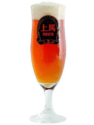 上馬ビール ヘレス グラスビール