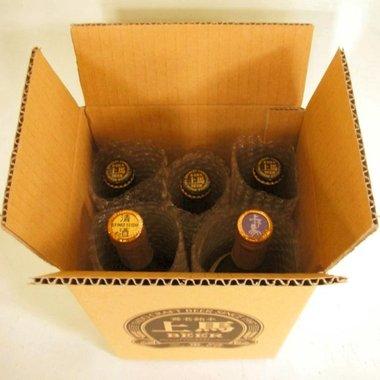 上げ馬 地酒・地ビール 無添加セット 梱包イメージ
